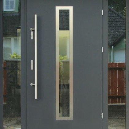 M12 durvis, antrac, ar papildu fiksēto rokturi, ar 2x Reflex stiklu sānu paneļiem
